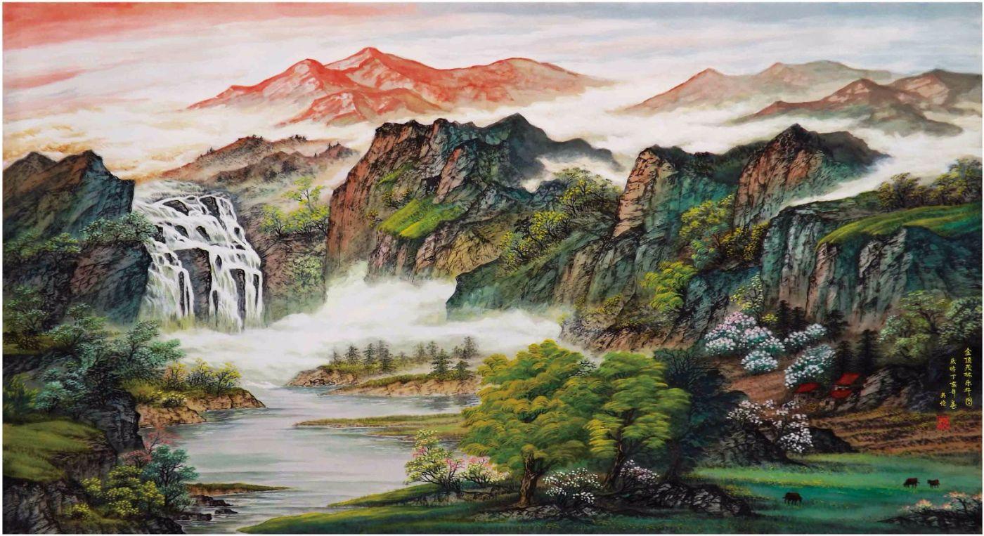 国际著名书画家叶英伦_图1-23