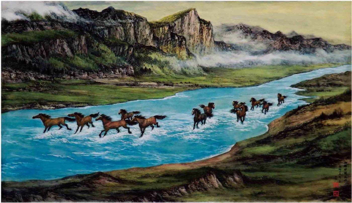 国际著名书画家叶英伦_图1-20