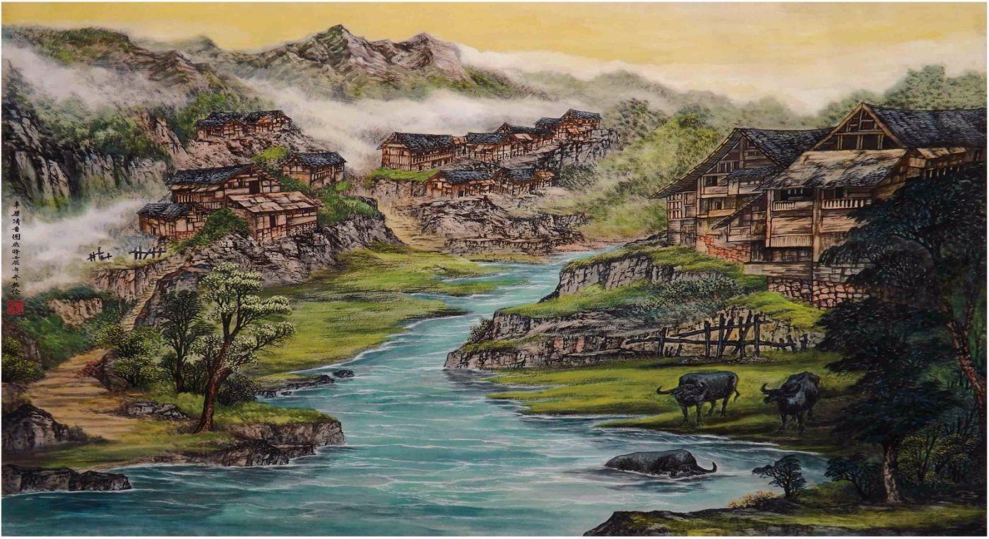 国际著名书画家叶英伦_图1-25