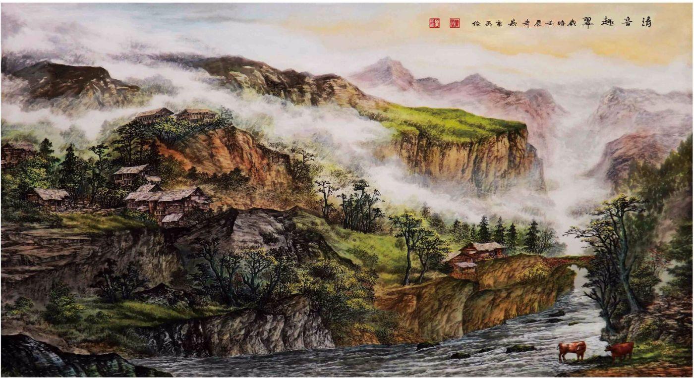 国际著名书画家叶英伦_图1-26
