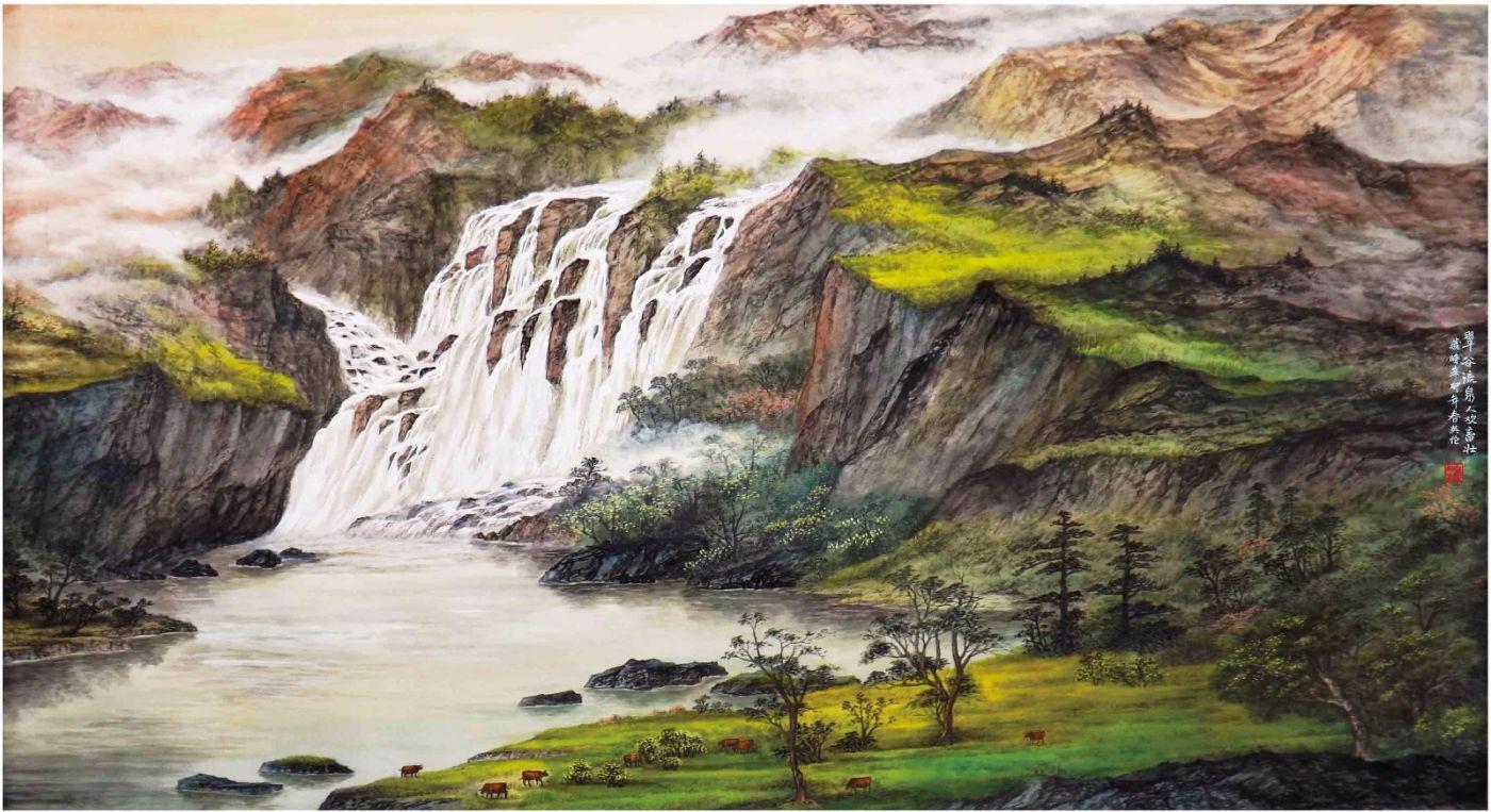 国际著名书画家叶英伦_图1-28