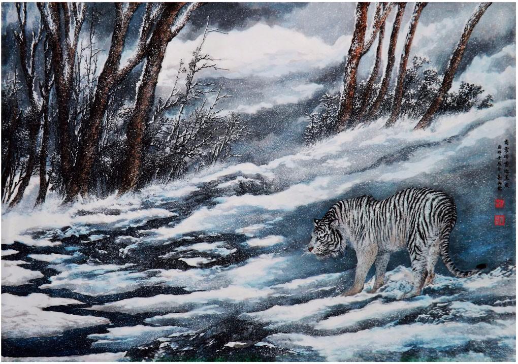 国际著名书画家叶英伦_图1-30