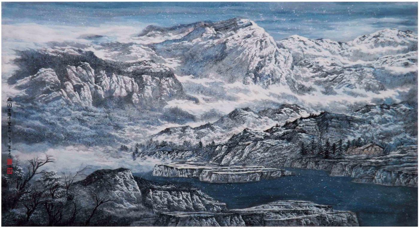 国际著名书画家叶英伦_图1-34