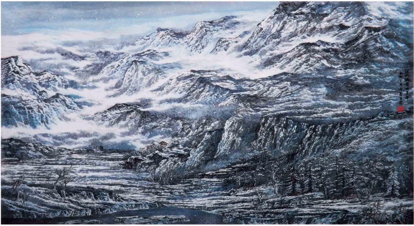 国际著名书画家叶英伦_图1-37