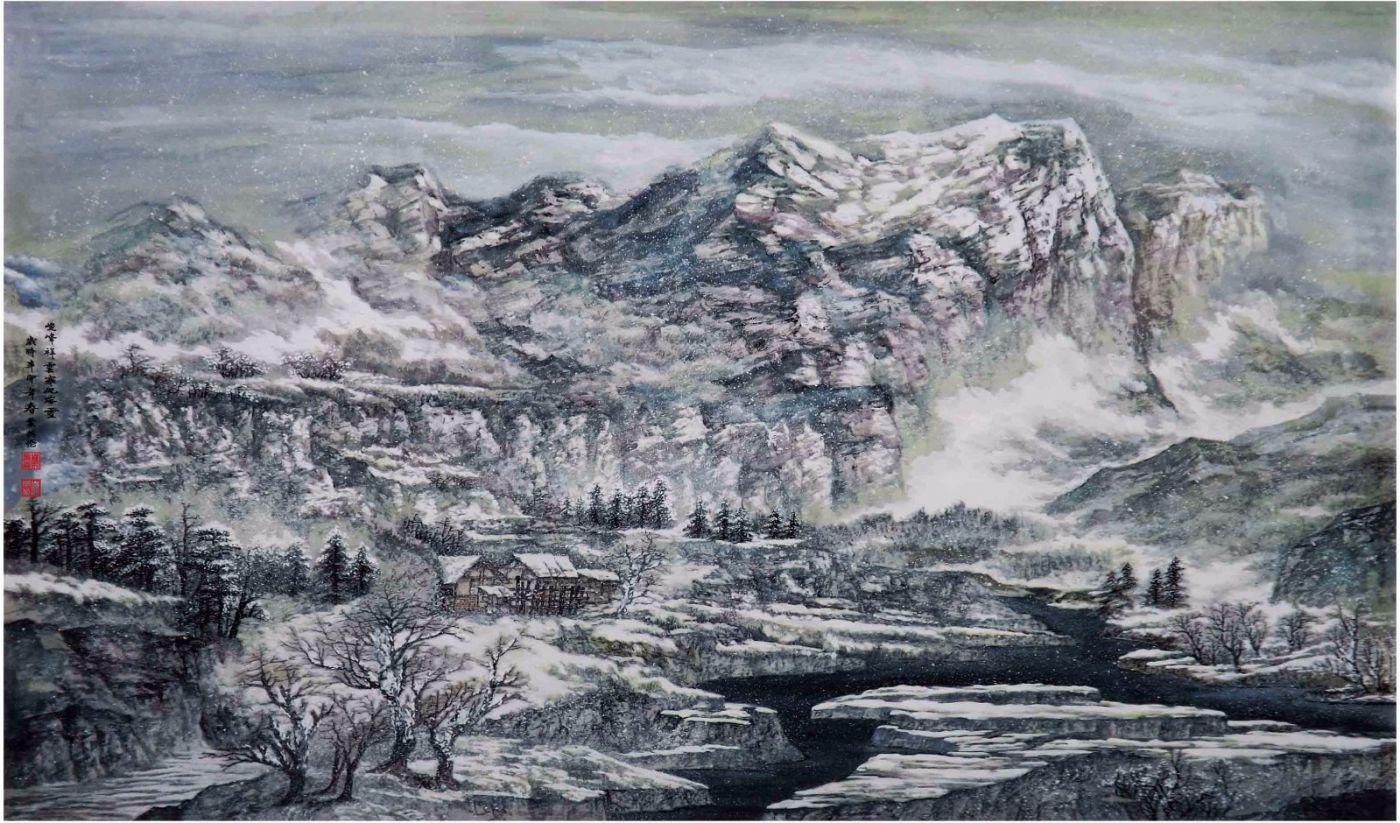 国际著名书画家叶英伦_图1-38