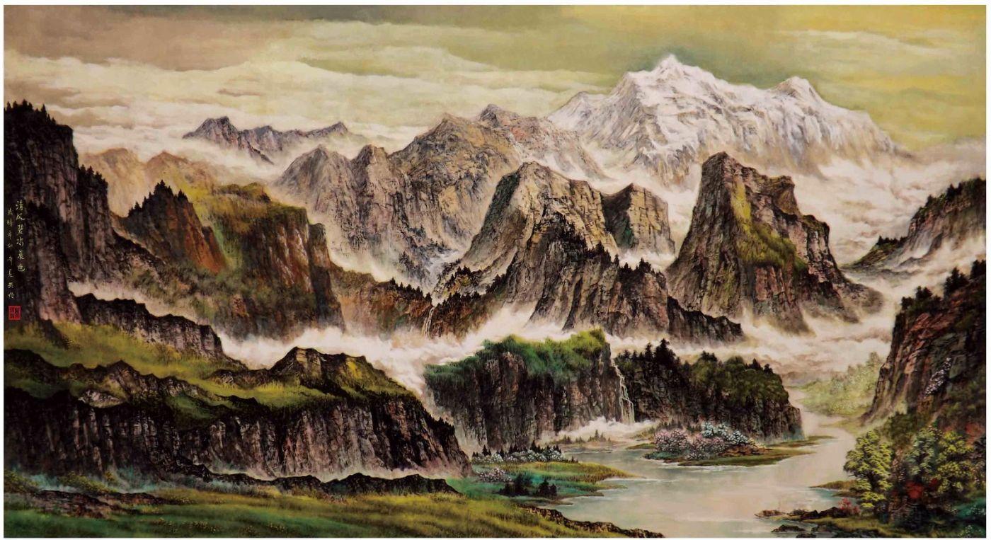 国际著名书画家叶英伦_图1-39