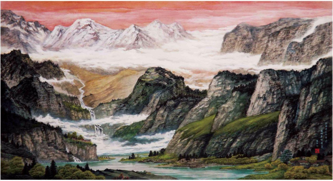 国际著名书画家叶英伦_图1-40