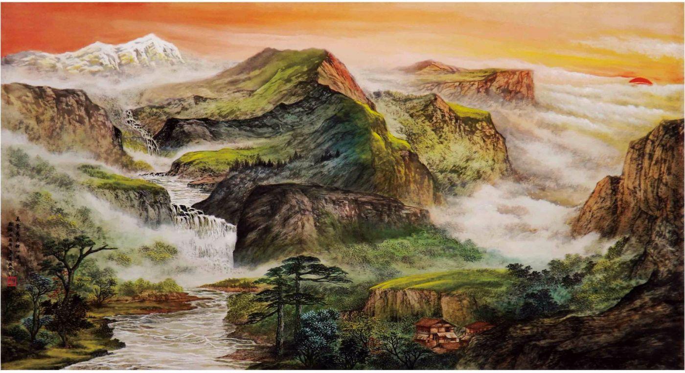 国际著名书画家叶英伦_图1-41