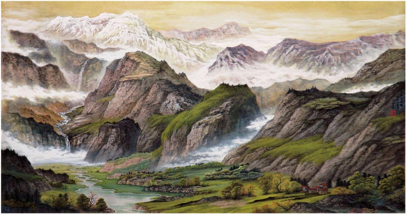 国际著名书画家叶英伦_图1-42
