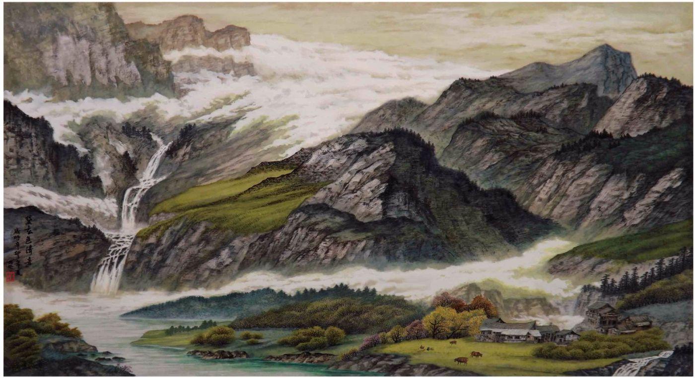 国际著名书画家叶英伦_图1-43