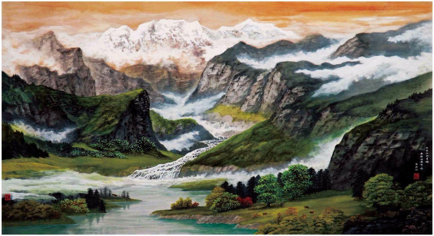 国际著名书画家叶英伦_图1-44
