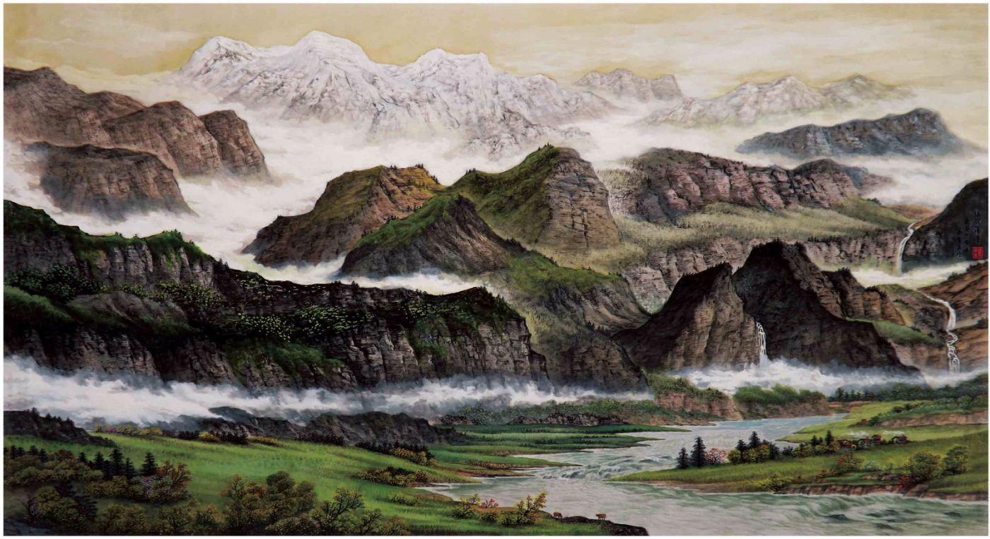 国际著名书画家叶英伦_图1-45