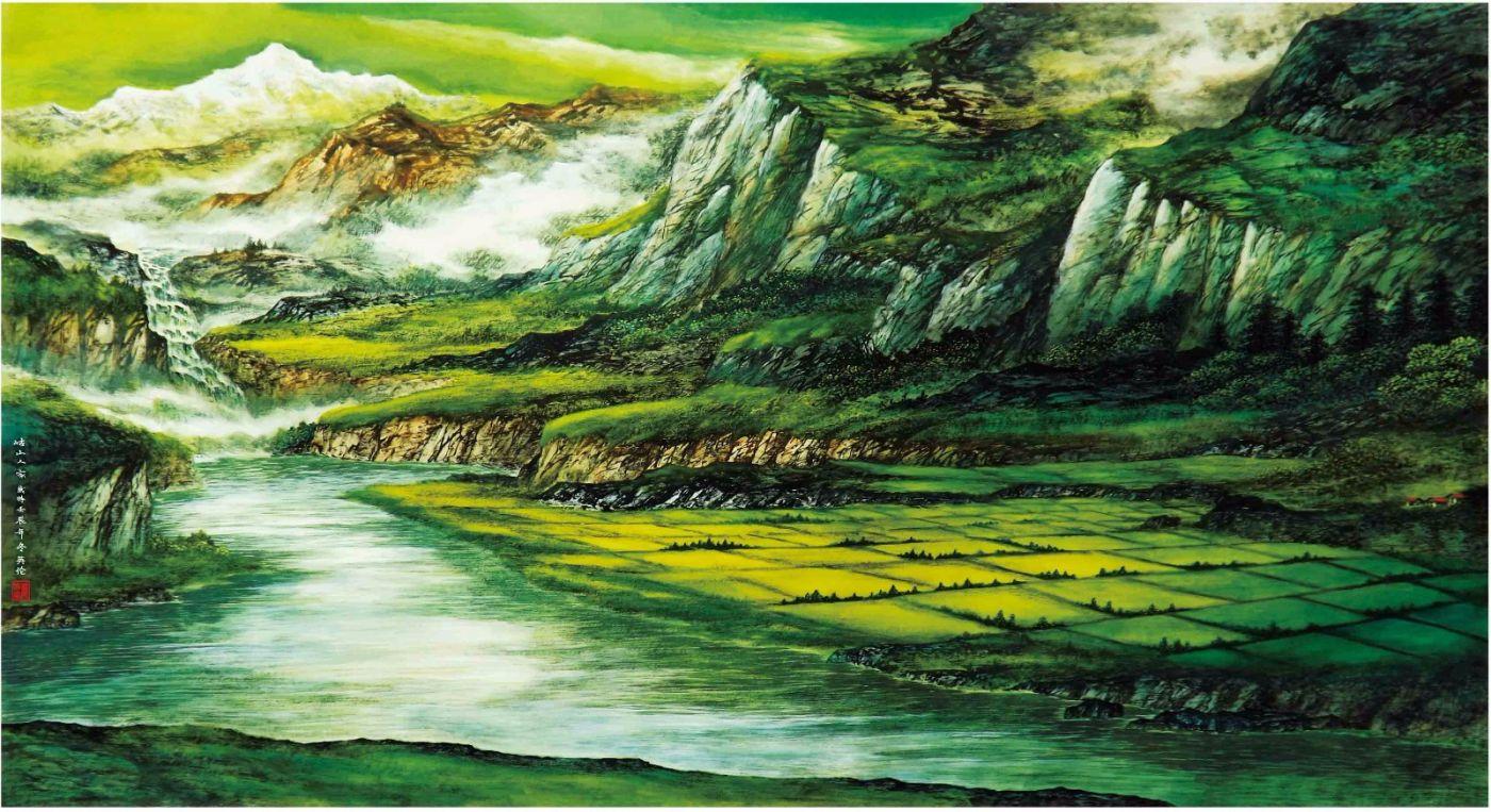 国际著名书画家叶英伦_图1-49