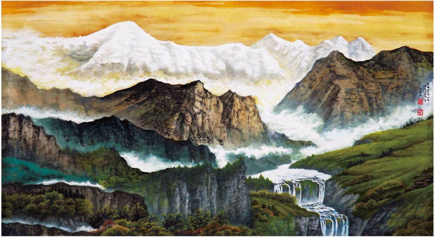 国际著名书画家叶英伦_图1-50