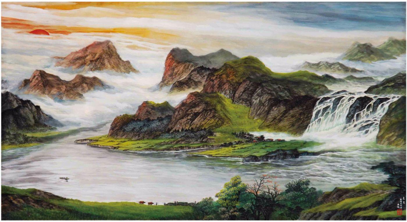 国际著名书画家叶英伦_图1-51