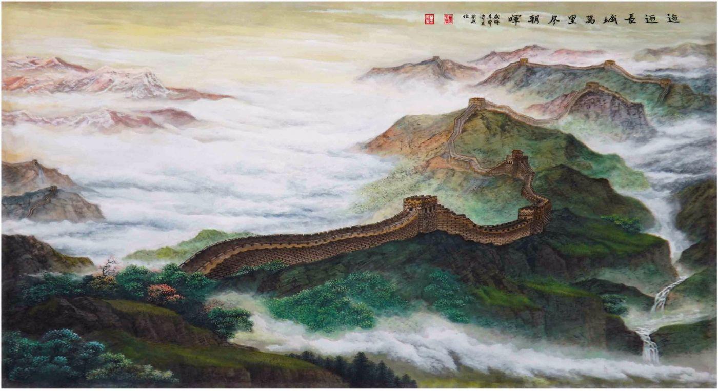国际著名书画家叶英伦_图1-54