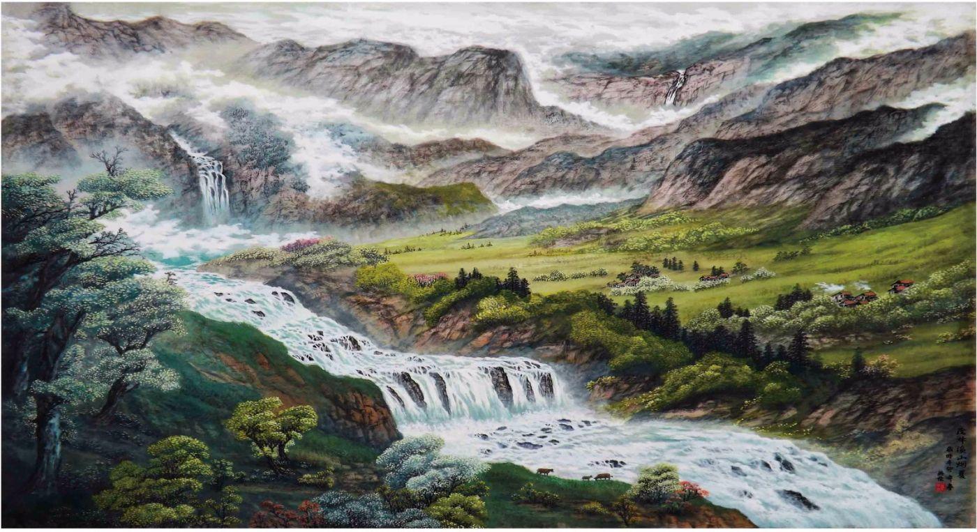 国际著名书画家叶英伦_图1-55