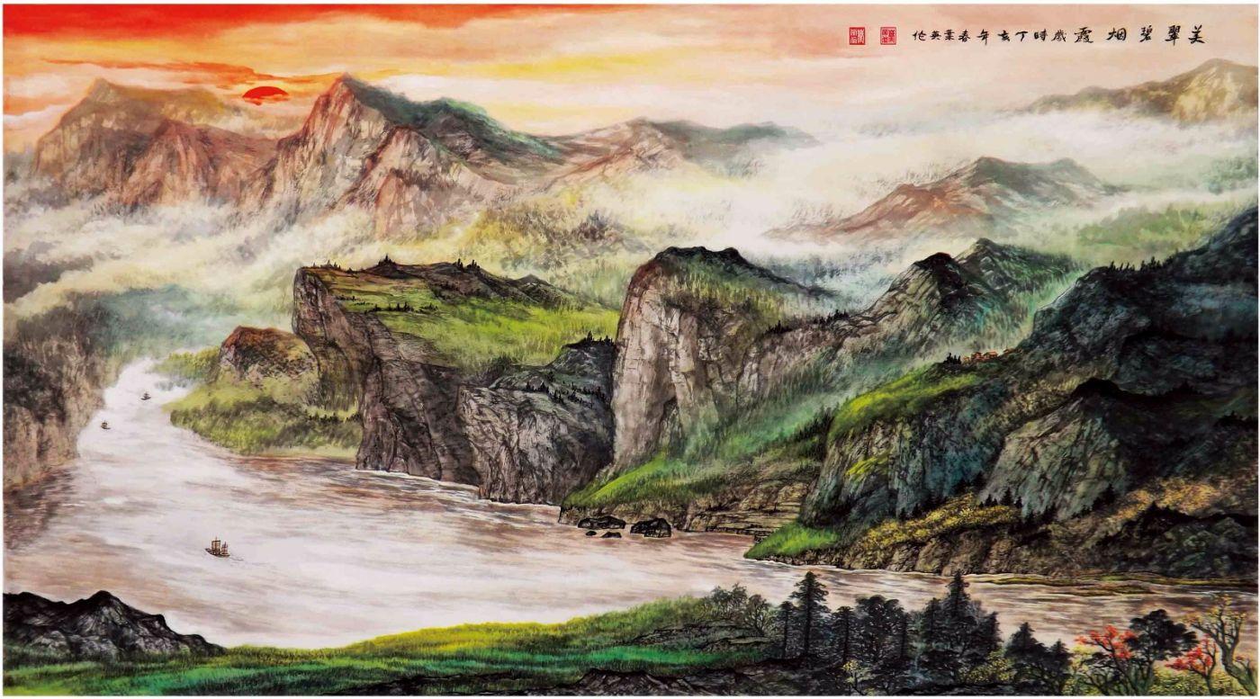 国际著名书画家叶英伦_图1-56