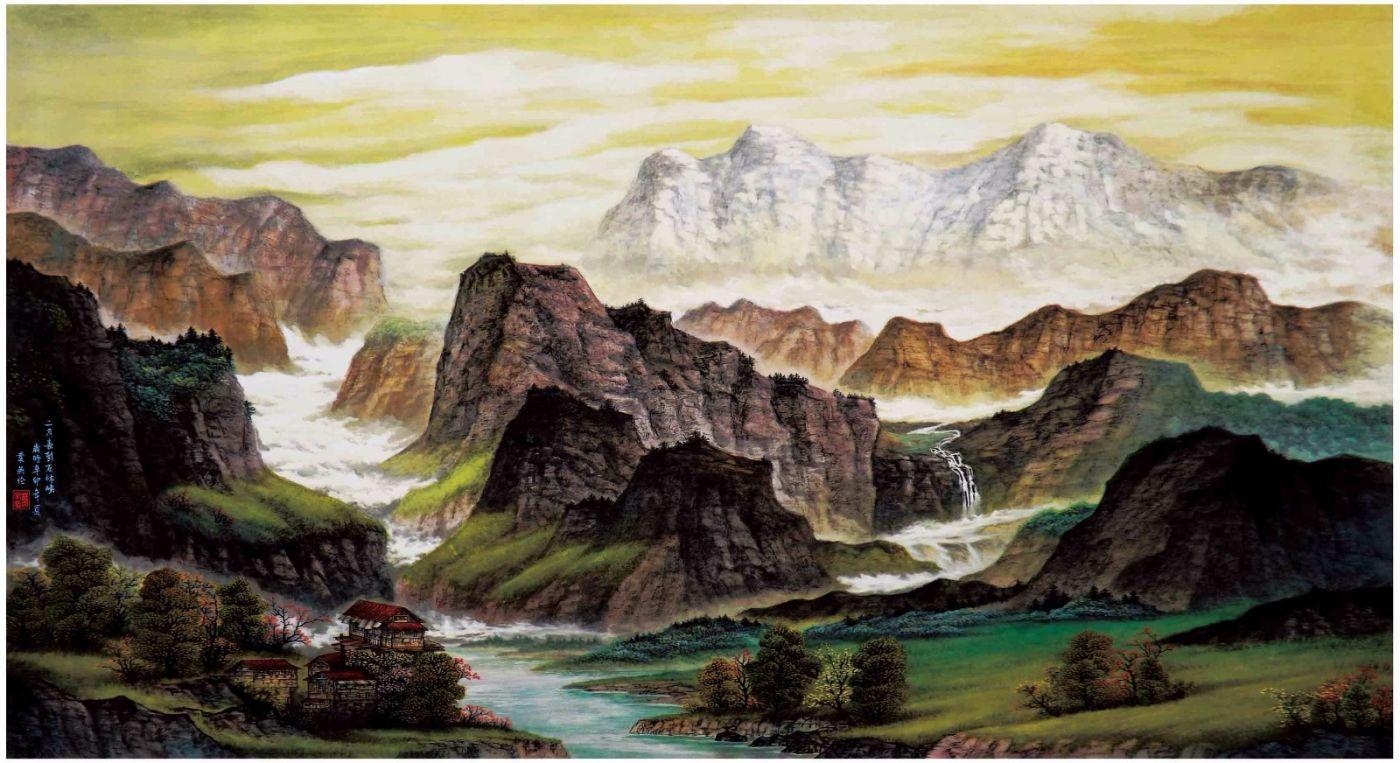 国际著名书画家叶英伦_图1-58