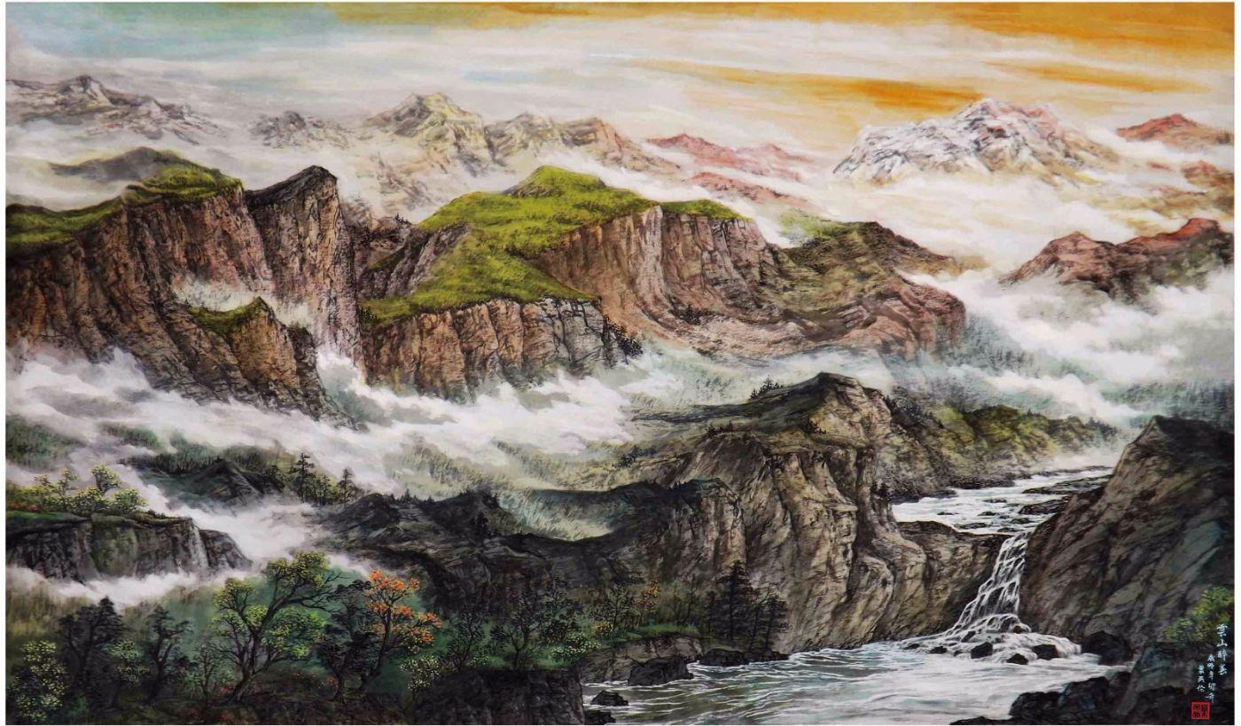 国际著名书画家叶英伦_图1-59