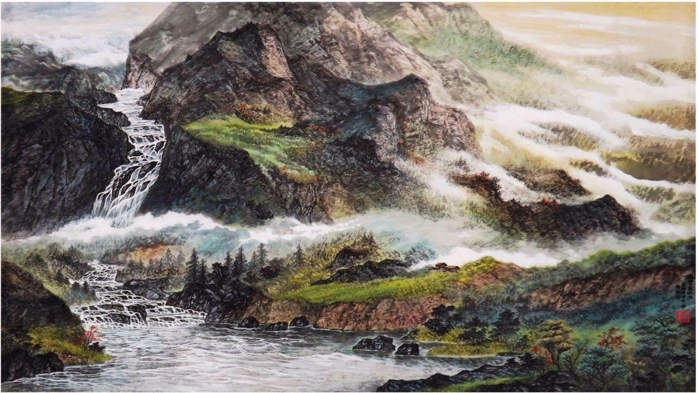 国际著名书画家叶英伦_图1-60