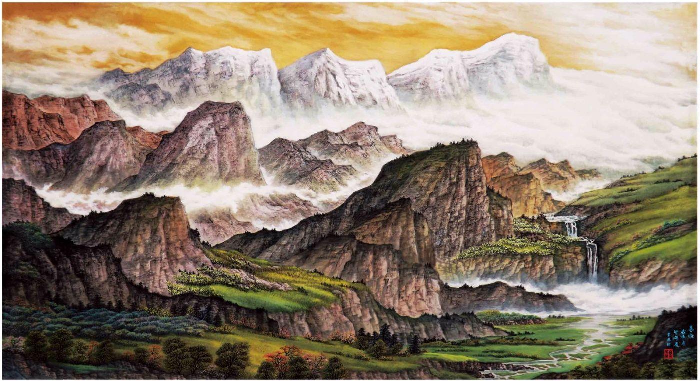 国际著名书画家叶英伦_图1-61