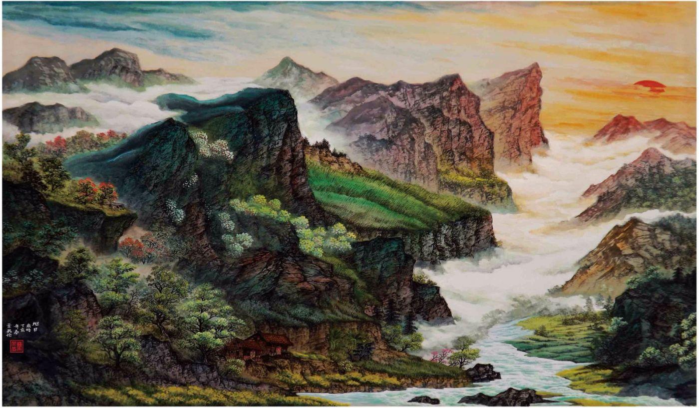 国际著名书画家叶英伦_图1-62