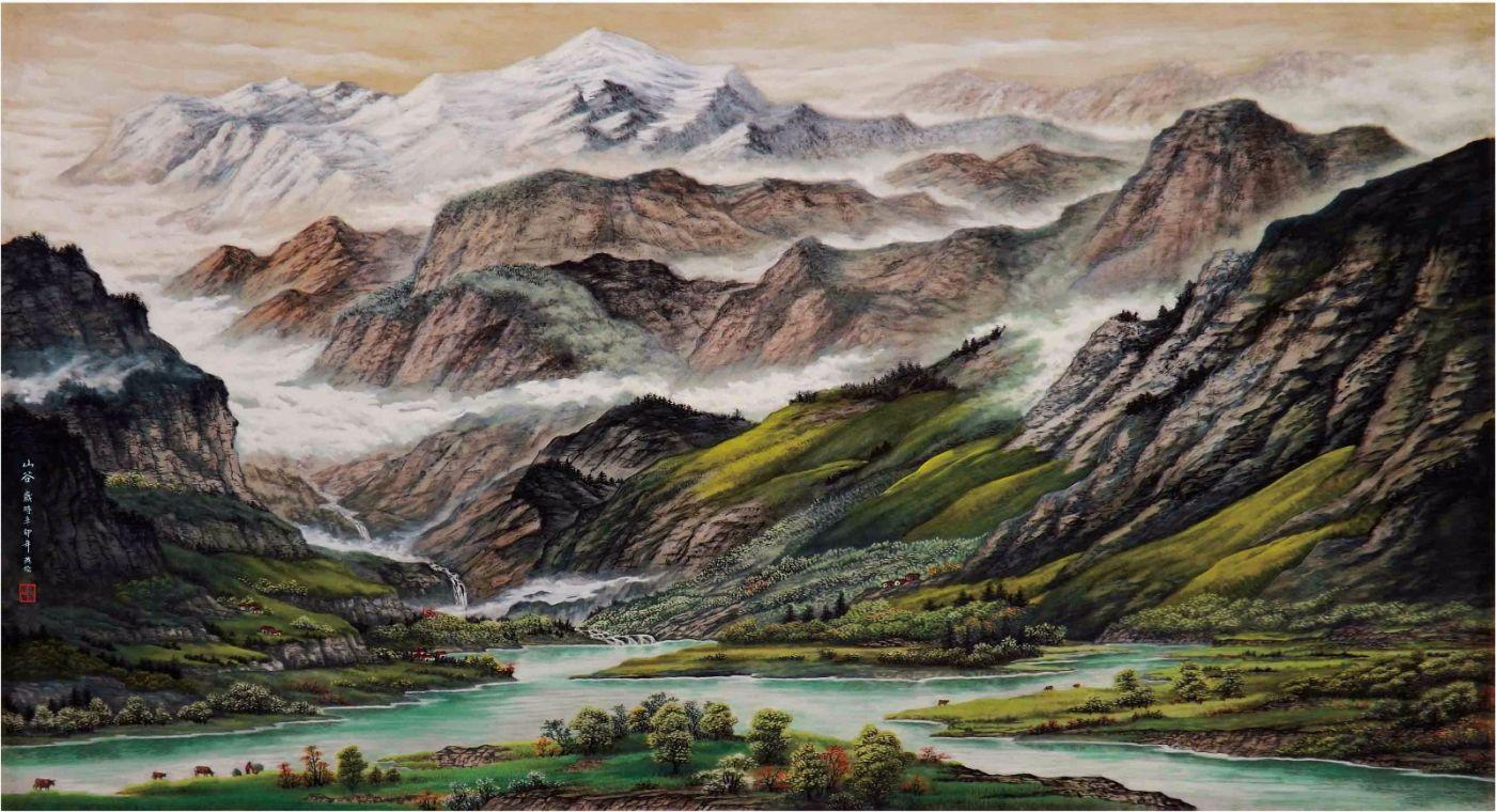 国际著名书画家叶英伦_图1-63