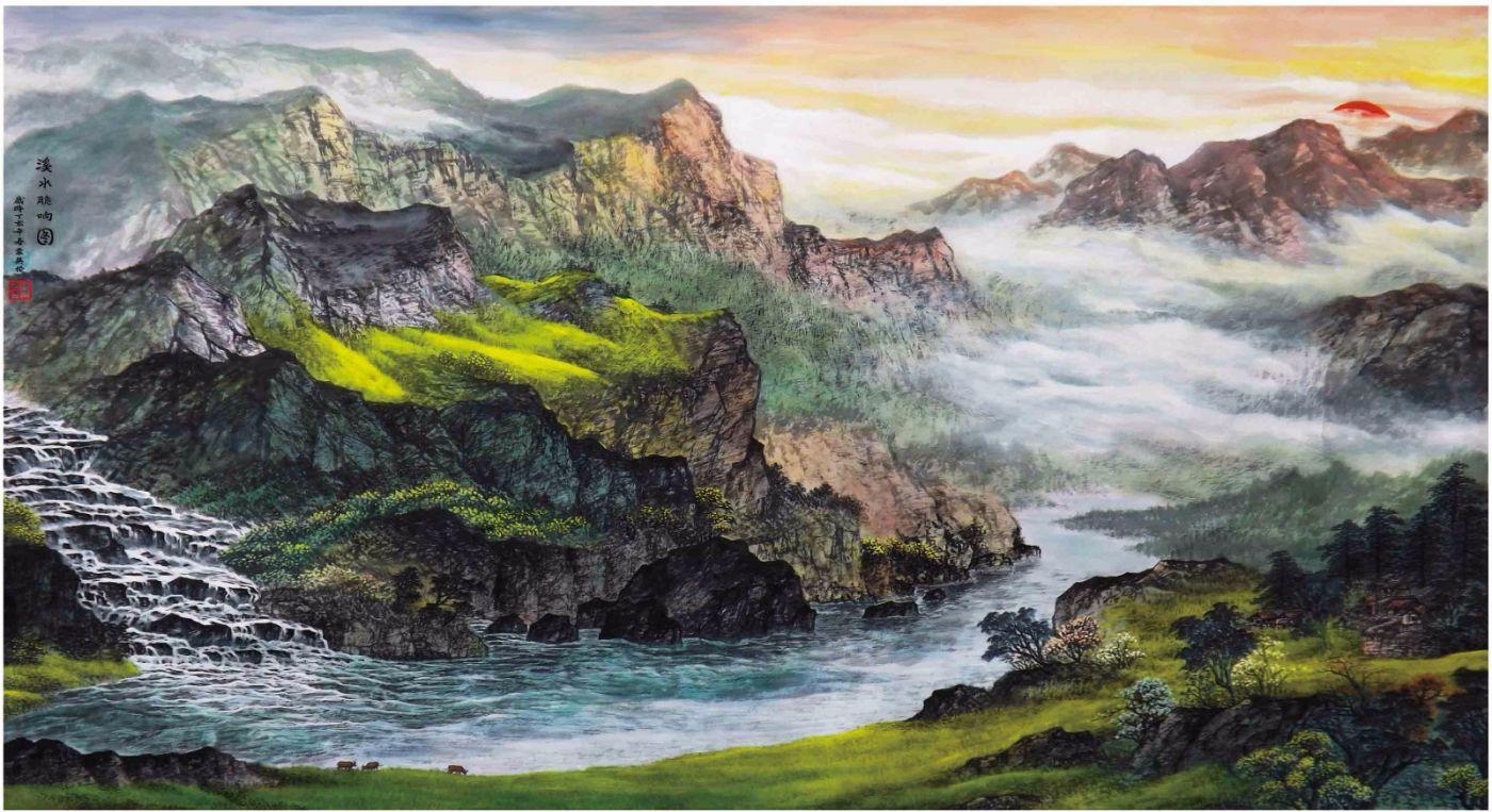 国际著名书画家叶英伦_图1-65
