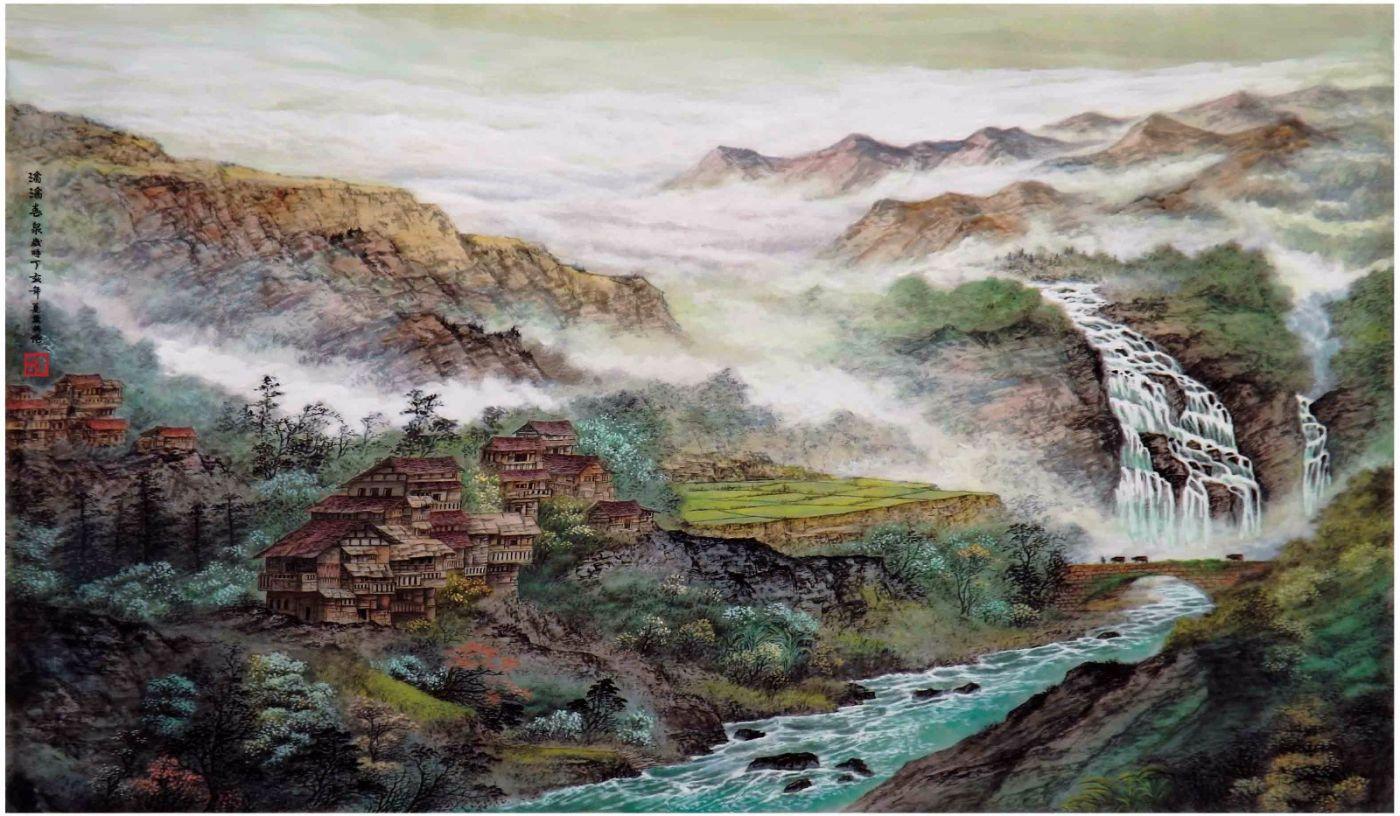 国际著名书画家叶英伦_图1-66