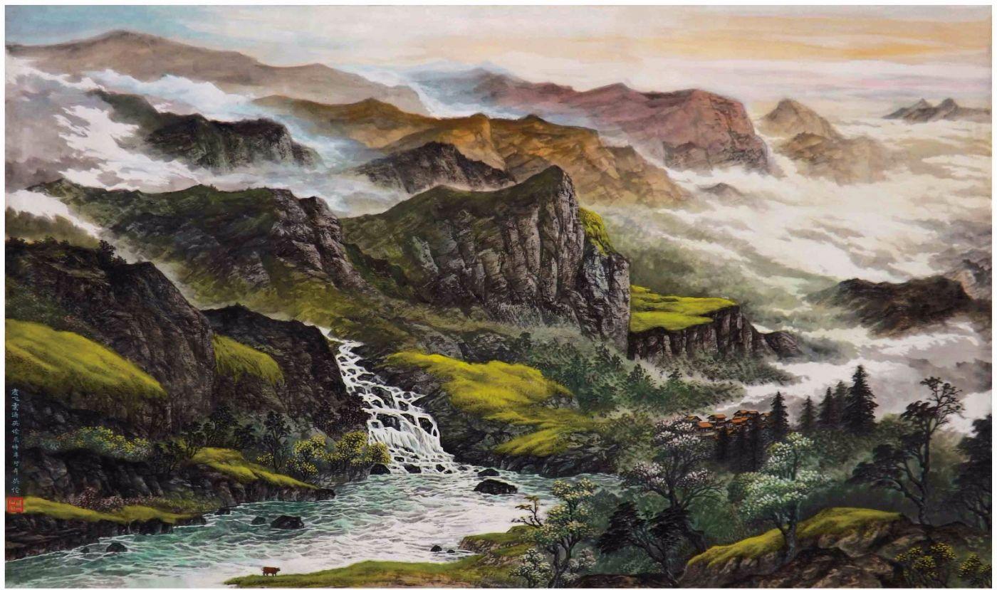 国际著名书画家叶英伦_图1-67