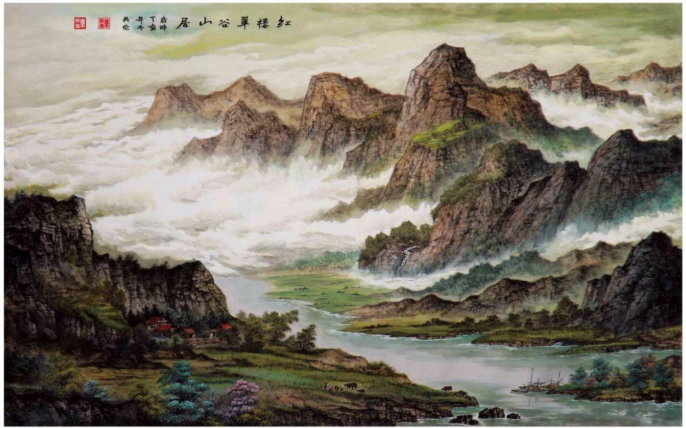 国际著名书画家叶英伦_图1-68