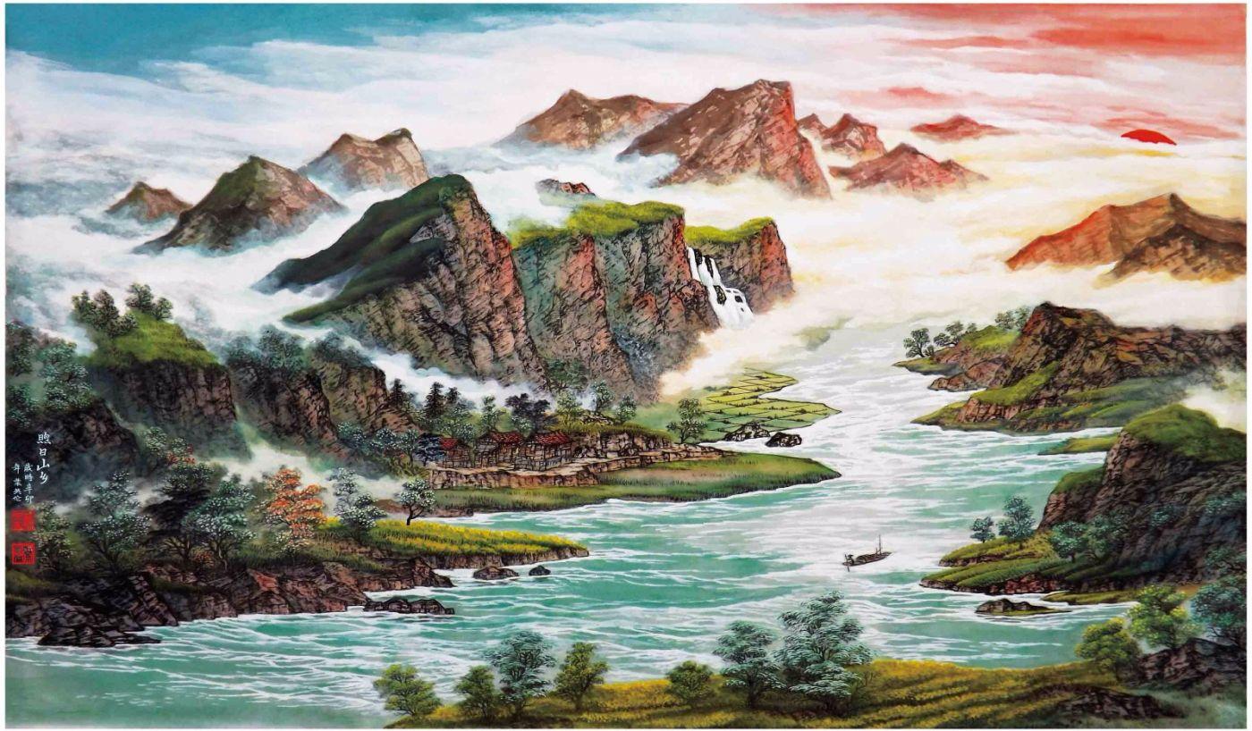 国际著名书画家叶英伦_图1-69