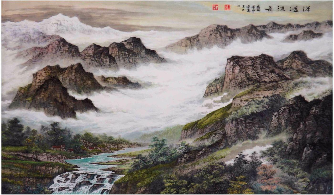国际著名书画家叶英伦_图1-70