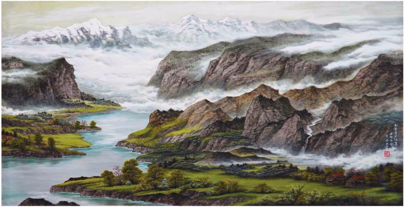 国际著名书画家叶英伦_图1-71