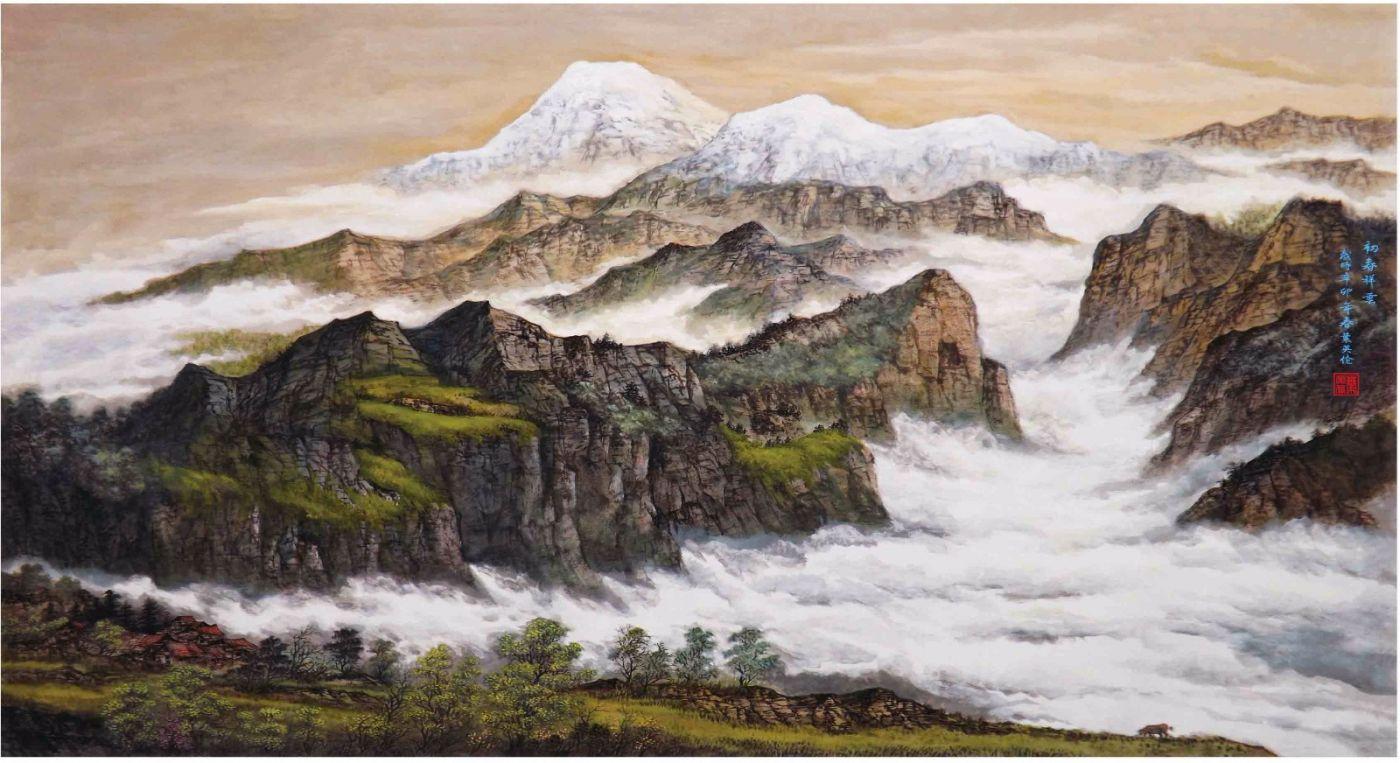国际著名书画家叶英伦_图1-73