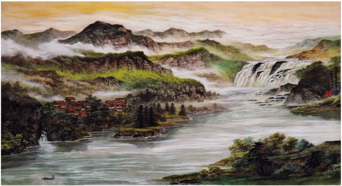国际著名书画家叶英伦_图1-74