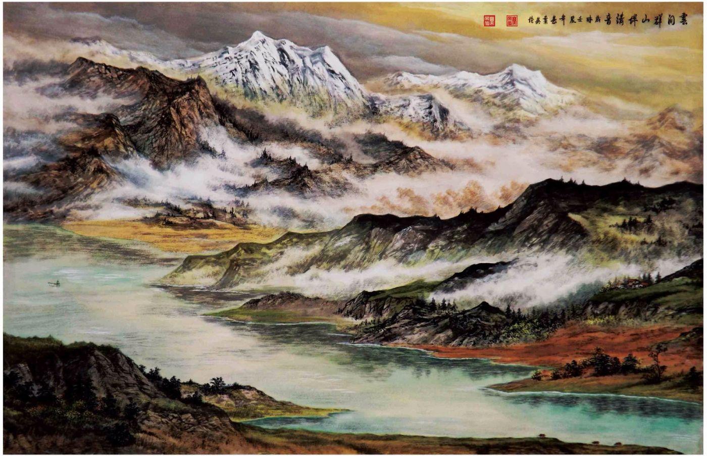 国际著名书画家叶英伦_图1-75