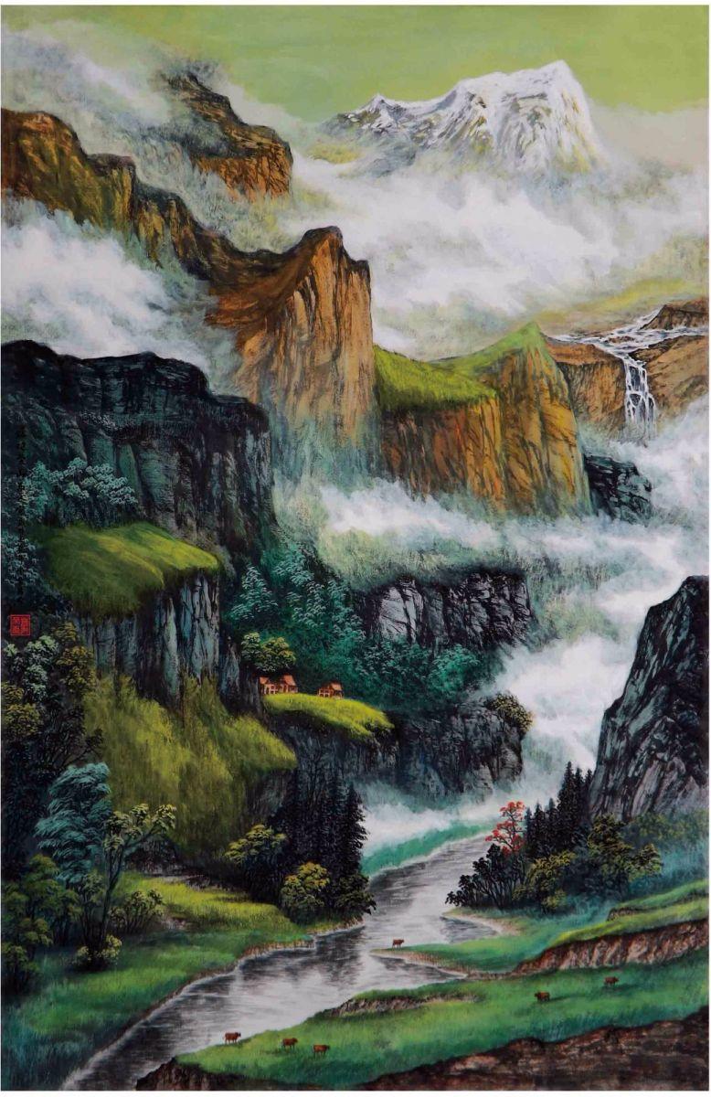 国际著名书画家叶英伦_图1-76