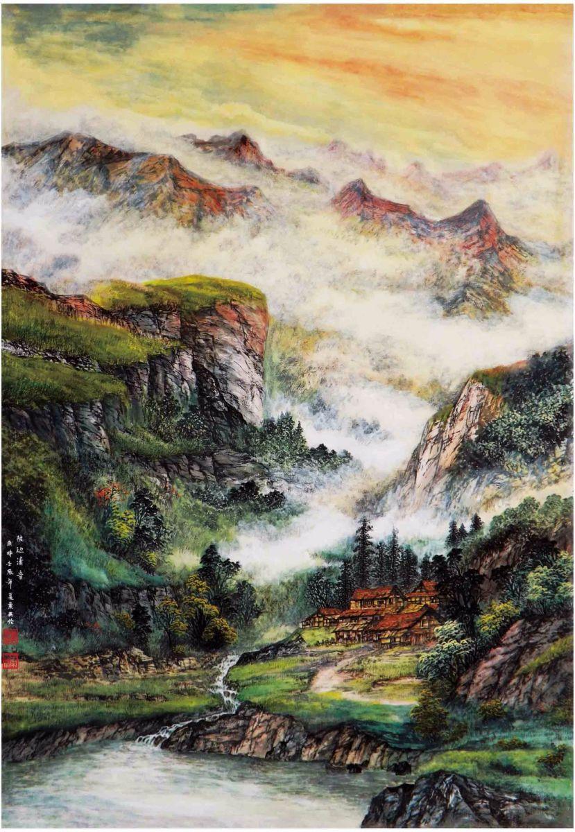 国际著名书画家叶英伦_图1-77