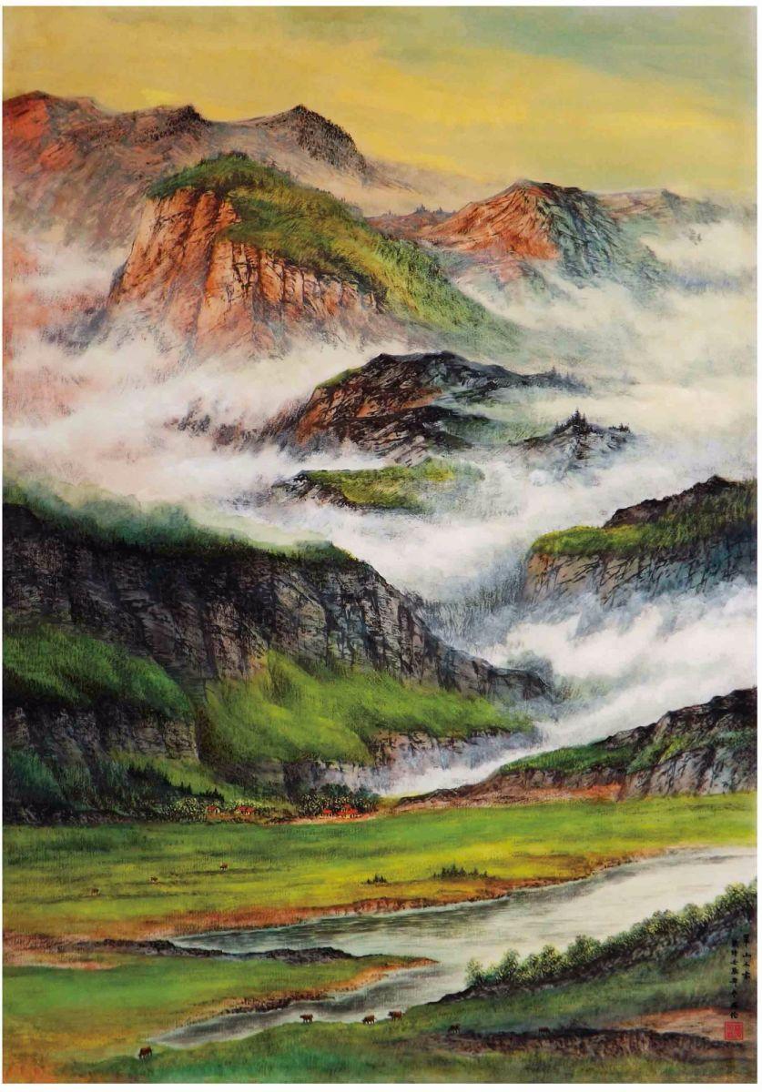 国际著名书画家叶英伦_图1-78