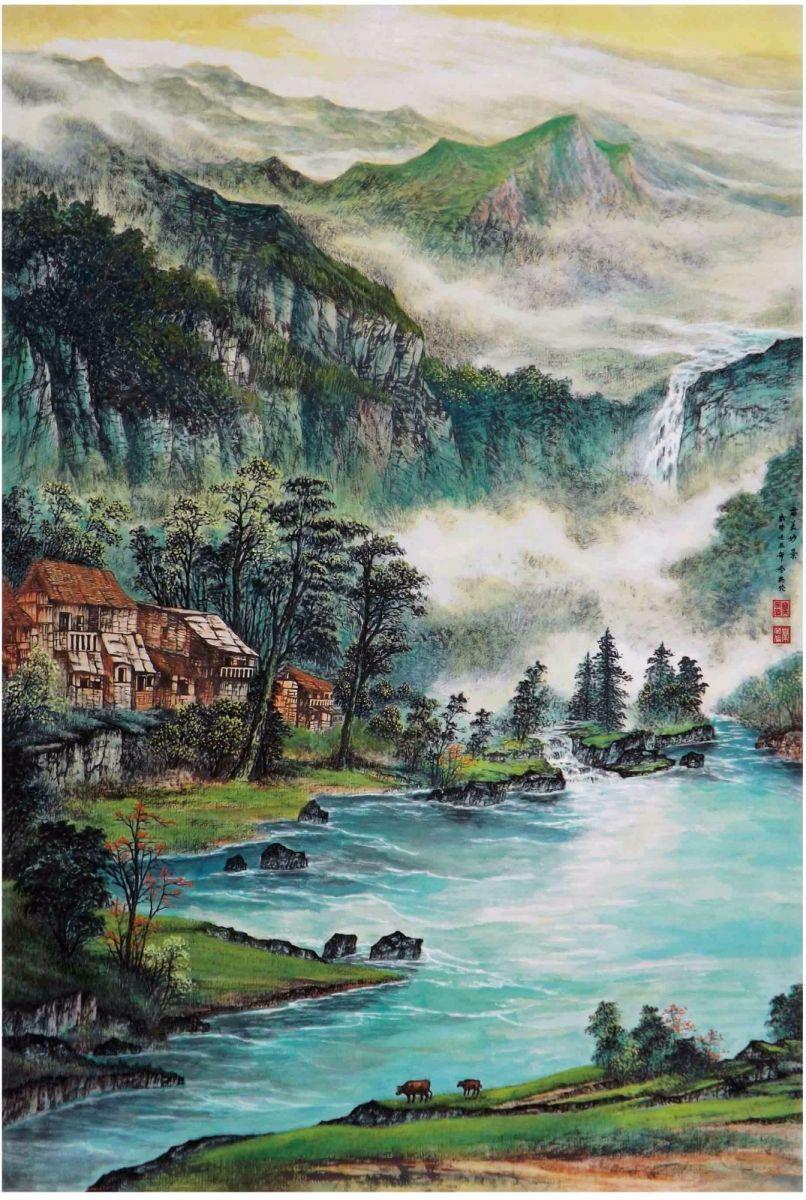 国际著名书画家叶英伦_图1-79