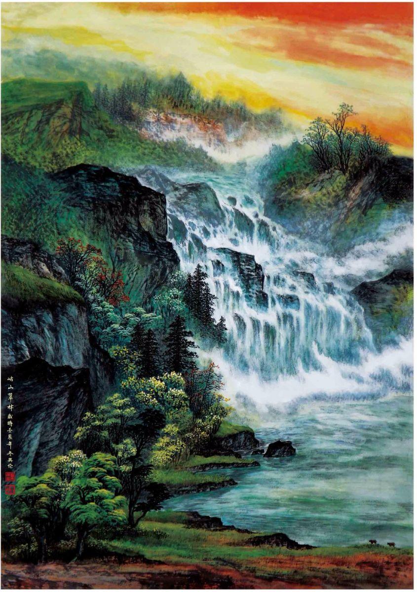 国际著名书画家叶英伦_图1-80