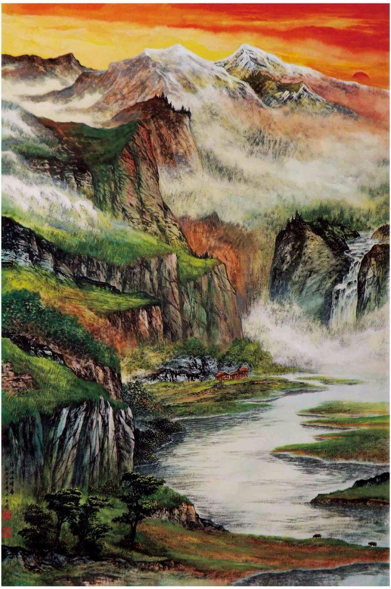 国际著名书画家叶英伦_图1-81