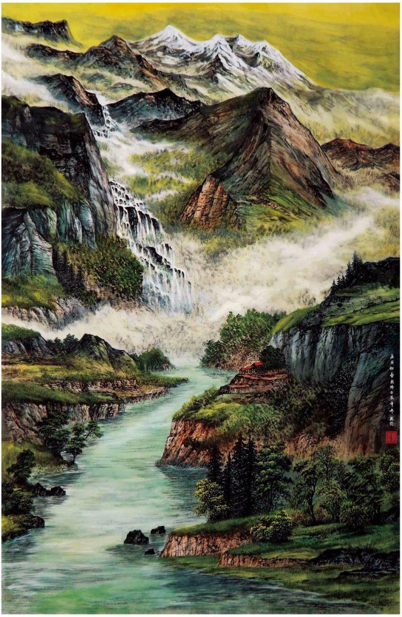 国际著名书画家叶英伦_图1-82