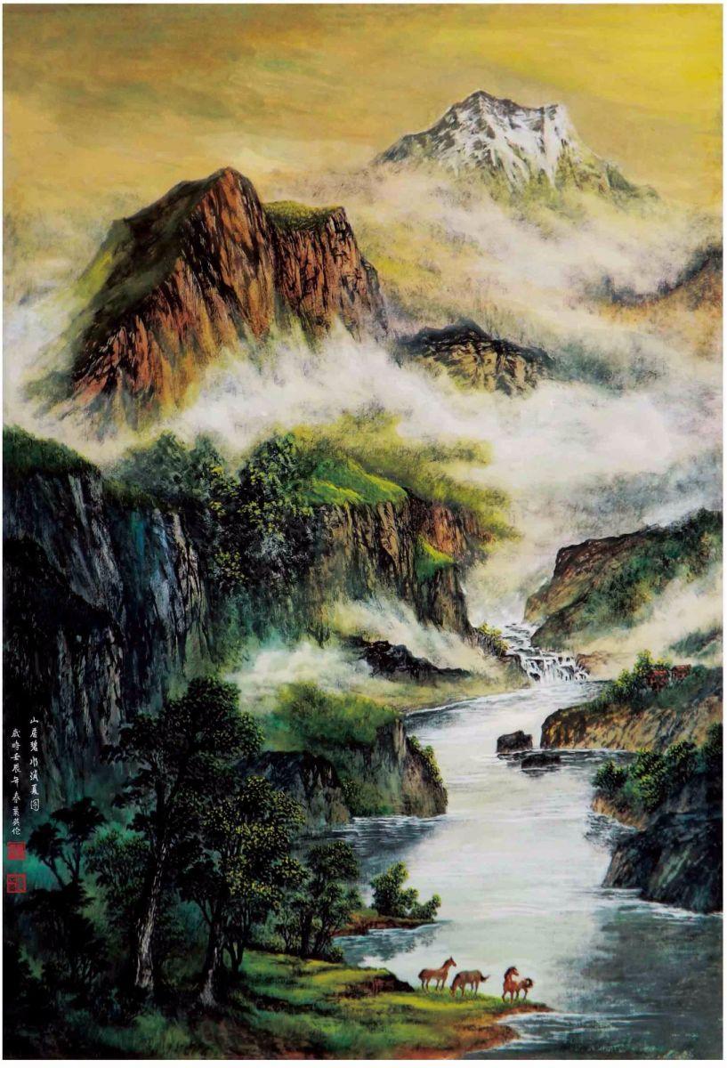 国际著名书画家叶英伦_图1-83