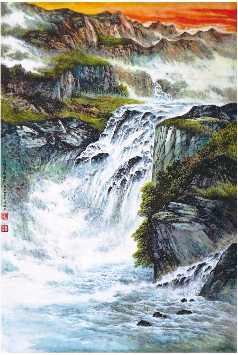 国际著名书画家叶英伦_图1-84
