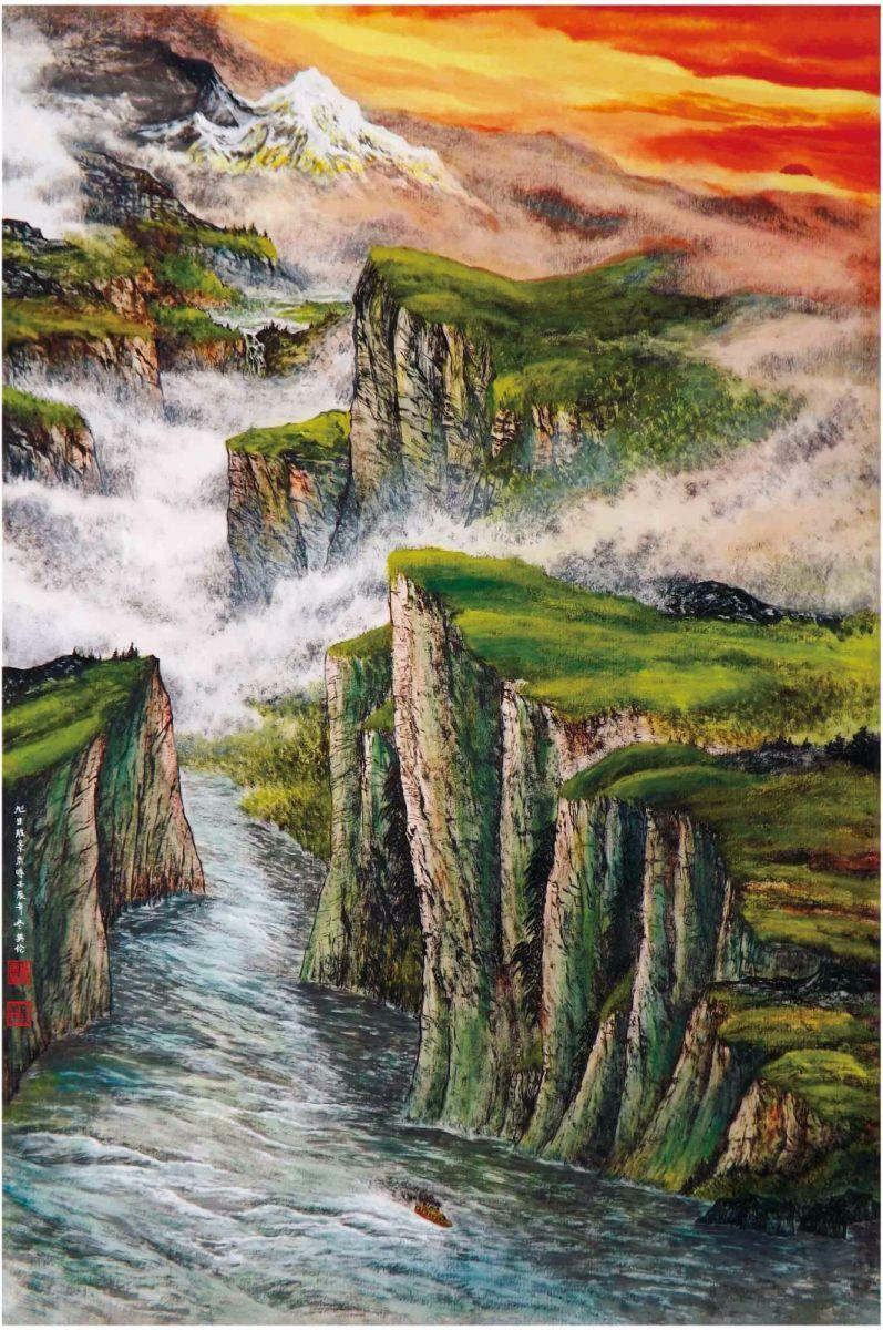 国际著名书画家叶英伦_图1-85