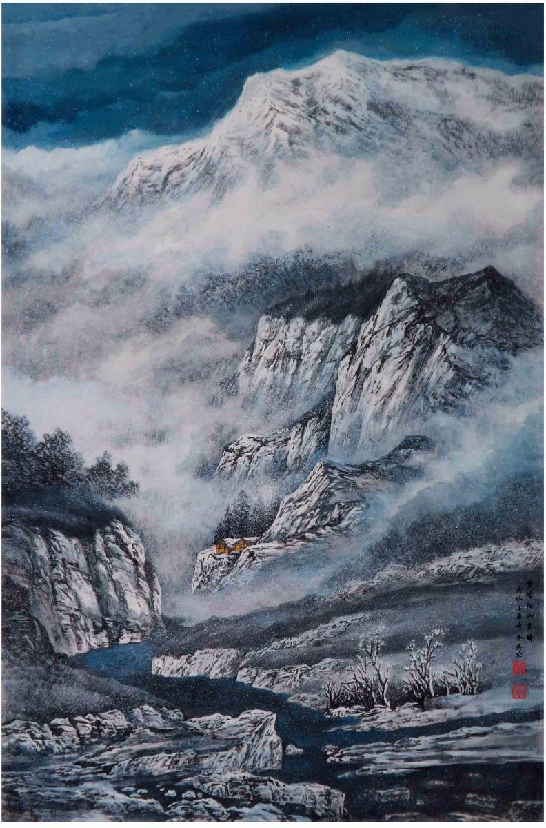 国际著名书画家叶英伦_图1-86