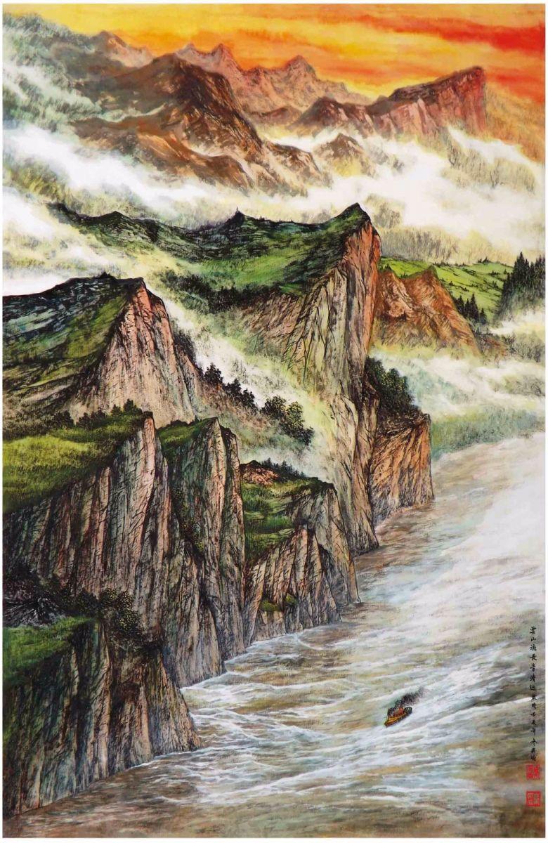 国际著名书画家叶英伦_图1-87